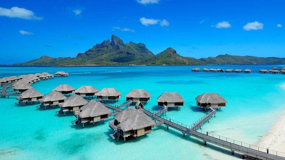 Отель Four Seasons Resort Bora Bora