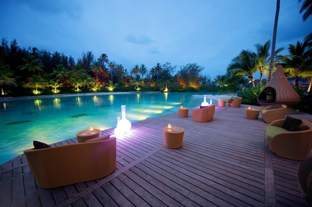 Отель Intercontinental Resort & Thalasso Spa Bora Bora