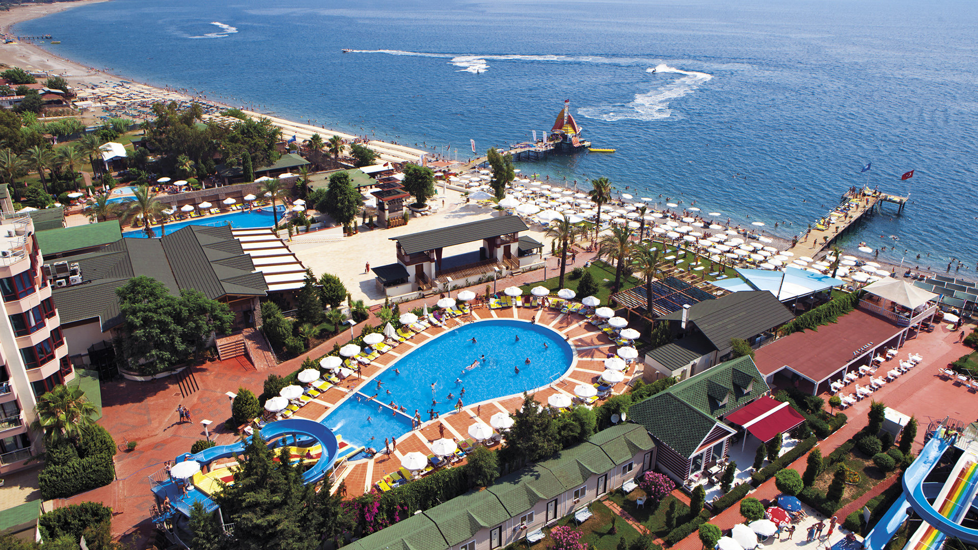 Отель PGS Rose Residence & Beach